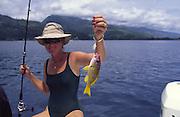 Taape fish, Tahiti, French Polynesia<br />