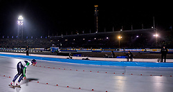 09-03-2018 NED: WK Schaatsen Allround, Amsterdam<br /> Francesca Lollobrigida ITA