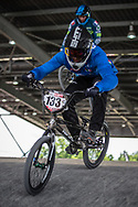 #133 (CRISTOFOLI Roberto) ITA at Round 6 of the 2019 UCI BMX Supercross World Cup in Saint-Quentin-En-Yvelines, France