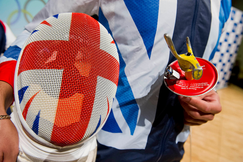 The British Olympic Association announces the Team GB fencing athletes for the London 2012 Games. London, 12 June 2012.  Guy Bell, 07771 786236, guy@gbphotos.com