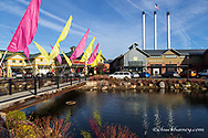 The Old Mill District of Bend, Oregon, USA
