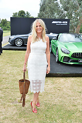 Maddie Chesterton at the Laureus King Power Cup polo match held at Ham Polo Club, Richmond, London England. 22 June 2017.<br /> Photo by Dominic O'Neill/SilverHub 0203 174 1069 sales@silverhubmedia.com