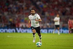 MUNICH, GERMANY - Tuesday, August 1, 2017: Liverpool's Mohamed Salah during the Audi Cup 2017 match between FC Bayern Munich and Liverpool FC at the Allianz Arena. (Pic by David Rawcliffe/Propaganda)