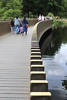 Sackler Crossing, Kew Gardens, London, UK, 09 June 2019, Photo by Richard Goldschmidt