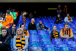 Hull City supporters look dejected after their side lose 2-0 to Tottenham Hotspur - Photo mandatory by-line: Rogan Thomson/JMP - 07966 386802 - 16/05/2015 - SPORT - FOOTBALL - London, England - White Hart Lane - Tottenham Hotspur v Hull City - Barclays Premier League.