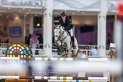 BREEN Shane (IRL), Compelling Z<br /> Doha - CHI Al SHAQAB 2020<br /> Int. jumping competition with jump-off (1.55/1.60 m) - CSI5* <br /> 28. Februar 2020<br /> © www.sportfotos-lafrentz.de/Stefan Lafrentz