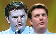 © Licensed to London News Pictures. 14/03/2015. Liverpool, UK. Chief Secretary to the Treasury and Liberal Democrat Danny Alexander makes his keynote speech. The Liberal Democrat Spring Conference in Liverpool 14th March 2015. Photo credit : Stephen Simpson/LNP
