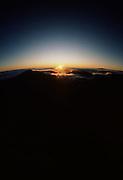 Sunrise, Haleakala Crater, Maui, Hawaii