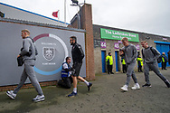 Barnsley as they arrive for the The FA Cup 3rd round match between Burnley and Barnsley at Turf Moor, Burnley, England on 5 January 2019.