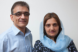 Portrait of couple. (NOT to be represented as Muslim)