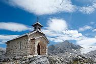 Dachstein Chapel, near Simonyhütte and the Hallstätter glacier. Dachstein, Salzkammergut, Austria © Rudolf Abraham