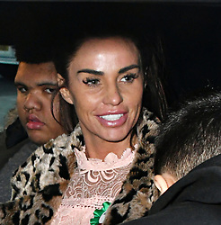 February 6, 2018 - London, London, United Kingdom - Katie Price in Parliament. Katie Price, Loose Women panellist gives evidence in Parliament at Parliamentary Select Committee meeting on how online abuse has affected her family, after an online petition she started gained over 200k public signatures, at House of Commons, London. (Credit Image: © Nils Jorgensen/i-Images via ZUMA Press)