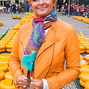 """NLD/Alkmaar/20180518 - Perspresentatie """"Nederland staat op tegen kanker"""" officiele start, Caroline Tensen"""
