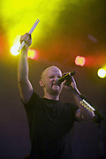 Moby performs at Wembley Stadium, London, UK