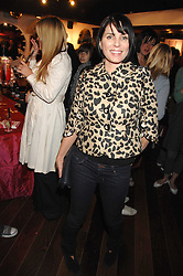 SADIE FROST at the launch party for the shop 'Lost in Beauty' 117 Regents Park Road, London NW1 on 22nd April 2008.<br />
