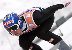 Anders Jacobsen (NOR) at Flying Hill Individual in 2nd day of 32nd World Cup Competition of FIS World Cup Ski Jumping Final in Planica, Slovenia, on March 20, 2009. (Photo by Vid Ponikvar / Sportida)