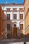 The Rosenhaneska Palatset on Riddarholmen. Stockholm. Sweden, Europe.