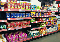 © Licensed to London News Pictures. 31/12/2020. London, UK. A selection of Easter eggs on sale in Iceland in north London, six days after Christmas Day. In 2021, Easter will fall on 4th April. Photo credit: Dinendra Haria/LNP