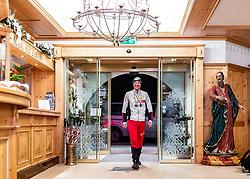 28.02.2019, Seefeld, AUT, FIS Weltmeisterschaften Ski Nordisch, Seefeld 2019, Medaillenfeier, im Bild Silbermedaillen Gewinner Bernhard Gruber (AUT) // Silver medallist Bernhard Gruber (AUT) during medal celebration of FIS Nordic Ski World Championships 2019. Seefeld, Austria on 2019/02/28. EXPA Pictures © 2019, PhotoCredit: EXPA/ JFK