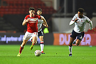 Callum O'Dowda (11) of Bristol City on the attack during the The FA Cup fourth round match between Bristol City and Bolton Wanderers at Ashton Gate, Bristol, England on 25 January 2019.