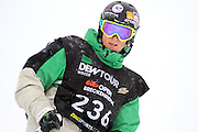 SHOT 12/18/10 11:22:09 AM - Xavier Bertoni of Bonneville, France during the Superpipe Finals at the Nike 6.0 Open stop of the Winter Dew Tour at Breckenridge Ski Resort in Breckenridge, Co. The event features ski and snowboard slopestyle and superpipe. (Photo by Marc Piscotty / © 2010)