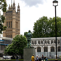 Jan Christian Smuts Statue;<br />