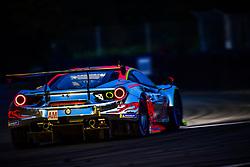 June 16, 2018 - Le Mans, FRANCE - 61 CLEARWATER RACING (SGP) FERRARI 488 GTE GTE AM WENG SUN MOK (MYS) KEITA SAWA (JPN) MATTHEW GRIFFIN  (Credit Image: © Panoramic via ZUMA Press)