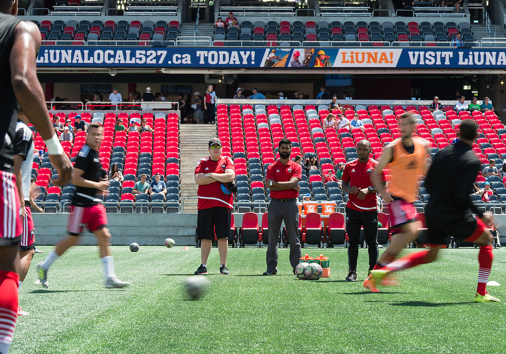 OTTAWA, ON - JULY 12: USL match between the Ottawa Fury FC and the Rochester Rhinos at TD Place Stadium in Ottawa, ON. Canada on July 15, 2017.<br /> <br /> PHOTO: Steve Kingsman/Freestyle Photography/Ottawa Fury FC