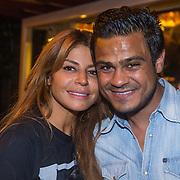 NLD/Blaricum/20130821 - Olcay Gulsen en partner Frans Ghazi