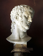 Nero (37-68) Roman emperor from 54. Marble bust.