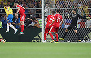 Thiago Silva of Brazil scores a goal during the 2018 FIFA World Cup Russia, Group E football match between Erbia and Brazil on June 27, 2018 at Spartak Stadium in Moscow, Russia - Photo Tarso Sarraf / FramePhoto / ProSportsImages / DPPI