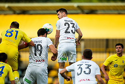 Antonio Azinovic and Marko Krivicic of Tabor during football match between NK Domzale and NK CB24 Tabor Sezana in 31st Round of Prva liga Telekom Slovenije 2019/20, on July 3, 2020 in Sports park, Domzale, Slovenia. Photo by Vid Ponikvar / Sportida