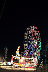 07 August 2015:   McLean County Fair - pharaohs Fury, sizzler, ferris wheel