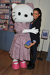 DIONNE BROMFIELD at a Hello Kitty Event at Liberty to lauch their collection of Hello Kitty products at Liberty, Great Marlborough Street, London on 25th September 2011.