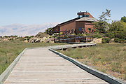 The Don Edwards Wildlife Refuge Environmental Education Center offers several free activities including field trips to experience the Drawbridge Ghost Town on Station Island near Alviso, Calif.  Photo by Stan Olszewski/SOSKIphoto.