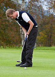 05.10.2010, Golfclub, Zell am See Kaprun, AUT, European Paragolf Championships 2010, im Bild Mathieu Cauneau, FRA, EXPA Pictures © 2010, PhotoCredit: EXPA/ J. Feichter