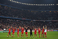FOOTBALL - UEFA CHAMPIONS LEAGUE 2009/2010 - 1/2 FINAL - 1ST LEG - BAYERN MUNCHEN v OLYMPIQUE LYONNAIS - 21/04/2010 - JOY BAYERN AFTER THE MATCH<br /> PHOTO FRANCK FAUGERE / DPPI