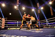 Boxen: SES-Box-Gala, Magdeburg, 11.05.2019<br /> Michel Eifert (Team Deutschland) - Stanislav Eschner (CZE)<br /> © Torsten Helmke