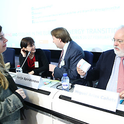 20150226 - Brussels - Belgium - 26 February 2015 -  Heating and cooling in the European energy  transition conference - Opening Ceremony , Facing the challenges, moving forward with the EU's energy transition. - Miguel Arias Canete - European Commissioner for Climate Action and Energy   © EC/CE - Patrick Mascart