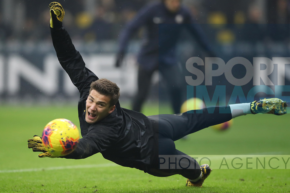 Filip Stankovic of Inter during the Serie A match at Giuseppe Meazza, Milan. Picture date: 9th February 2020. Picture credit should read: Jonathan Moscrop/Sportimage