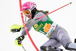 January 7, 2018 - Kranjska Gora, Gorenjska, Slovenia - Josephine Forni of France competes on course during the Slalom race at the 54th Golden Fox FIS World Cup in Kranjska Gora, Slovenia on January 7, 2018. (Credit Image: © Rok Rakun/Pacific Press via ZUMA Wire)