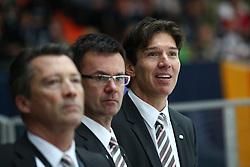 12.11.2010, Olympiahalle, Muenchen, GER, Deutschlandcup , Deutschland vs Canada, im Bild Krupp Uwe Head (Head Coach Deutschland)  , EXPA Pictures © 2010, PhotoCredit: EXPA/ nph/  Straubmeier+++++ ATTENTION - OUT OF GER +++++