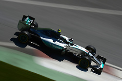 06.06.2015, Circuit Gilles Villeneuve, Montreal, CAN, FIA, Formel 1, Grand Prix von Kanada, Qualifying, im Bild Nico Rosberg (GER) Mercedes AMG F1 W06 // during Qualifyings of the Canadian Formula One Grand Prix at the Circuit Gilles Villeneuve in Montreal, Canada on 2015/06/06. EXPA Pictures © 2015, PhotoCredit: EXPA/ Sutton Images/ Patrik Lundin<br /> <br /> *****ATTENTION - for AUT, SLO, CRO, SRB, BIH, MAZ only*****