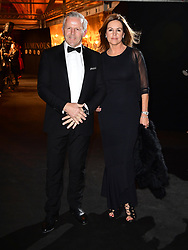 Sean and Bronwyn Fitzpatrick attending the BFI Luminous Fundraising Gala held at the Guildhall, London. PRESS ASSOCIATION Photo. Picture date: Tuesday October 3, 2017. Photo credit should read: Ian West/PA Wire