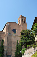 One of Siena's many churches