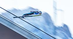 31.12.2016, Olympiaschanze, Garmisch Partenkirchen, GER, FIS Weltcup Ski Sprung, Vierschanzentournee, Garmisch Partenkirchen, Qualifikation, im Bild Simon Ammann (SUI) // Simon Ammann of Switzerland during his Qualification Jump for the Four Hills Tournament of FIS Ski Jumping World Cup at the Olympiaschanze in Garmisch Partenkirchen, Germany on 2016/12/31. EXPA Pictures © 2016, PhotoCredit: EXPA/ JFK