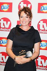© Licensed to London News Pictures. 09/09/2013, UK.  Olivia Colman, TV Choice Awards, The Dorchester Hotel, London UK, 09 September 2013 Photo credit : Richard Goldschmidt/Piqtured/LNP