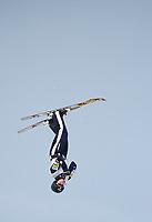 Freestyle World ski championship / Freestyle VM<br /> 7. Mars 2013<br /> Aerials ,<br /> Myrkdalen , Voss , Norge , Norway<br /> David Morris , Australia<br /> Foto: Astrid M. Nordhaug
