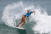 Whangamata's Ella Williams.<br /> Finals of the Surfing New Zealand National Championships 2021. Piha Beach, Auckland, New Zealand. Saturday 16 January 2021.<br /> © image by Andrew Cornaga / www.Photosport.nz