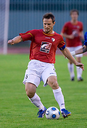 Almir Sulejmanovic of Rudar at 1st Round of Europe League football match between NK Rudar Velenje (Slovenia) and Trans Narva (Estonia), on July 9 2009, in Velenje, Slovenia. Rudar won 3:1 and qualified to 2nd Round. (Photo by Vid Ponikvar / Sportida)